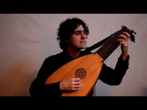 Ennemond Gaultier - Canaries (baroqure lute)