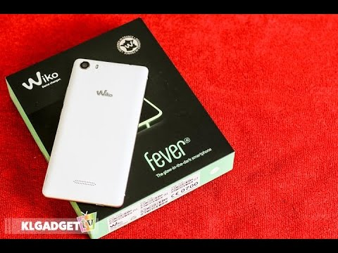 Wiko Fever 4G Unboxing