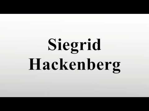 Siegrid Hackenberg