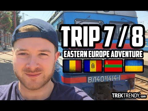 TrekTrendy - July/August Romania, Moldova, Transnistria, Ukraine epic adventure - Country #7/8 of 12