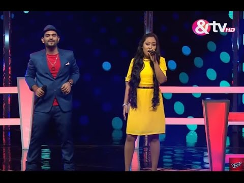 Baishali Lama & Paras Jetly - Roop Tera Mastana  | Battle Round | The Voice India 2