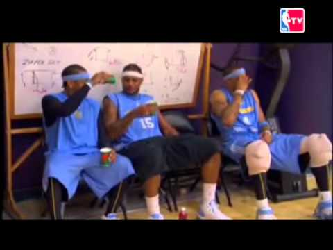 NBA funny moments with LBJ, Dwight, AI, Melo and Mike Brown