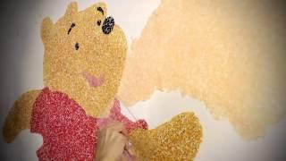 SILK PLASTER шелковоя штукатурка.Видео - урок от дилера Монголии...