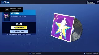 Fortnite Item Shop *New* Get Funky Music Pack! INTERSTELLAR Set! ( May 4 )