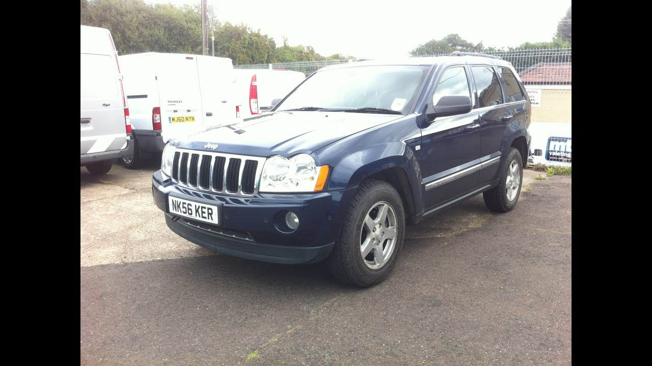 Superb 2006 JEEP GRAND CHEROKEE CRD LTD SUV REVIEW