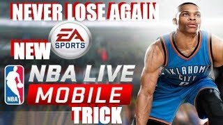 NBA LIVE MOBILE iOS App | NEW Unlimited Trys Trick! No Cheat/Hack!