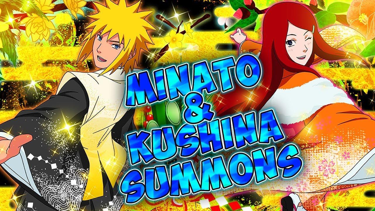 🌀MINATO & KUSHINA SUMMONS 🌀  NARUTO SHIPPUDEN: Ultimate Ninja Blazing - YouTube