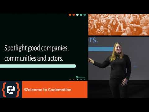 A More Human Industry - Jessica Rose - Codemotion Milan 2017