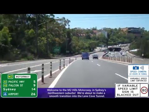 Sydney Harbour Bridge & Driving Road Trip Into Sydney, Australia - Warringah Freeway, And More!