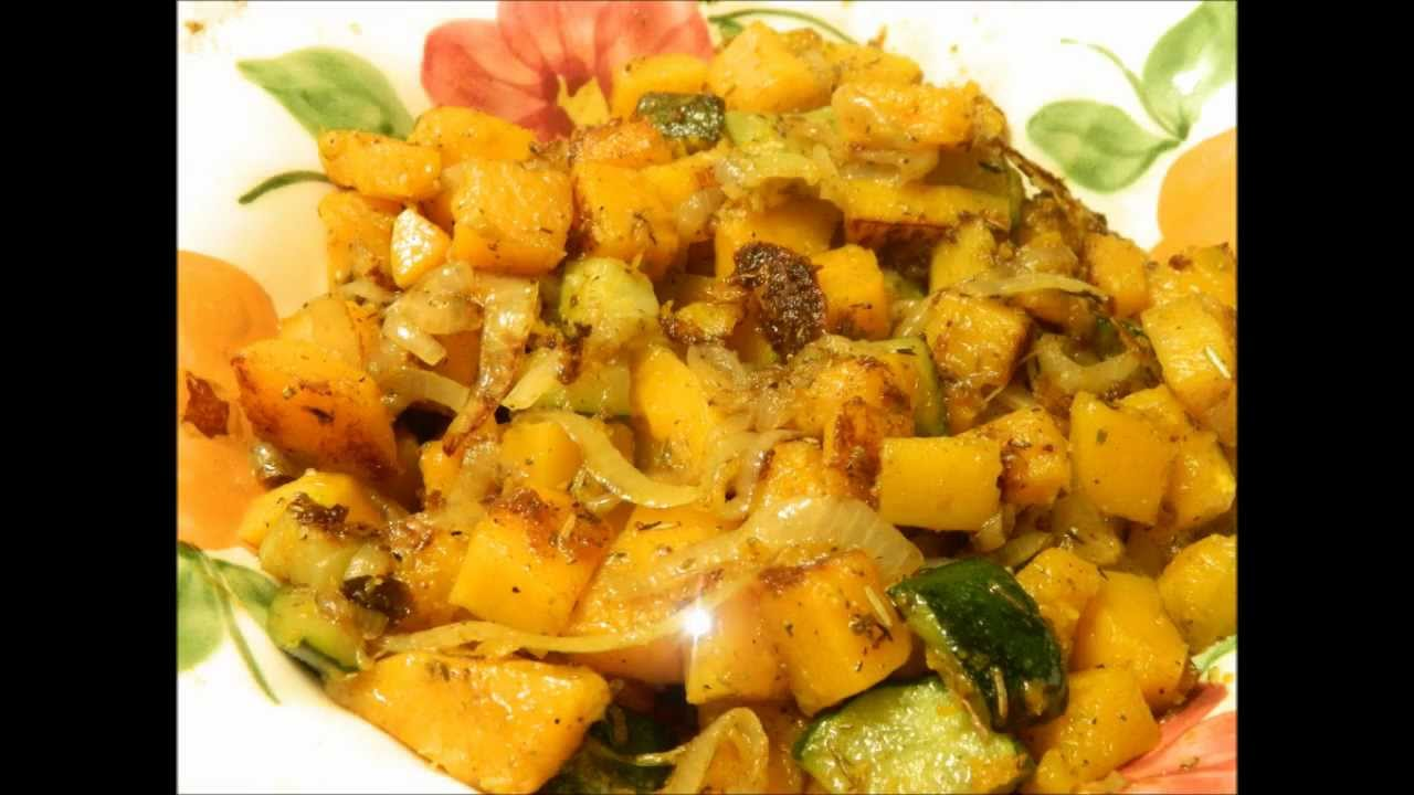 Browned Butter Squash - YouTube