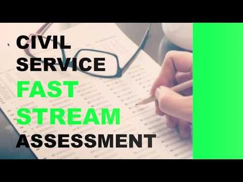 Civil Service Fast Stream Assessment Centre