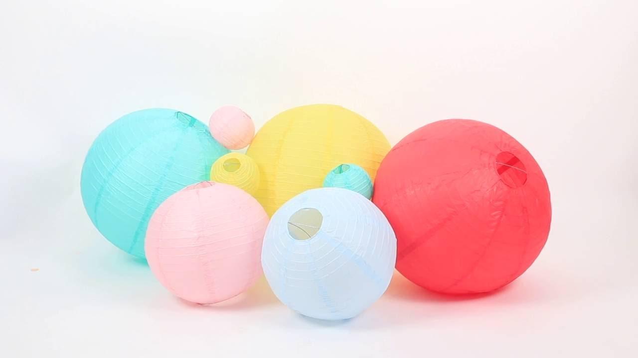 Comment Monter Les Lanternes En Papier With Boule Papier Ikea