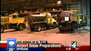 GEG Preps for Spokane Snow