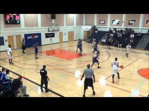 Las Vegas Knicks vs West Coast 2016 Bigfoot Hoops Easter Showdown HD