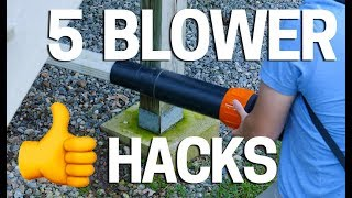Leaf Blower Hacks that will Blow you Away  🍁Fall Leaves