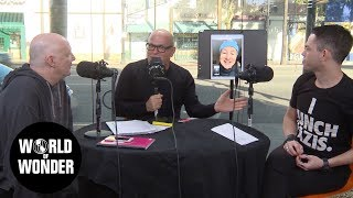 Morgan McMichaels Joins Us & Fenton is LIVE from Sundance on the WOW Report for Radio Andy