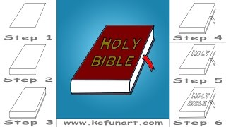 86-How To Draw A Cartoon Bible