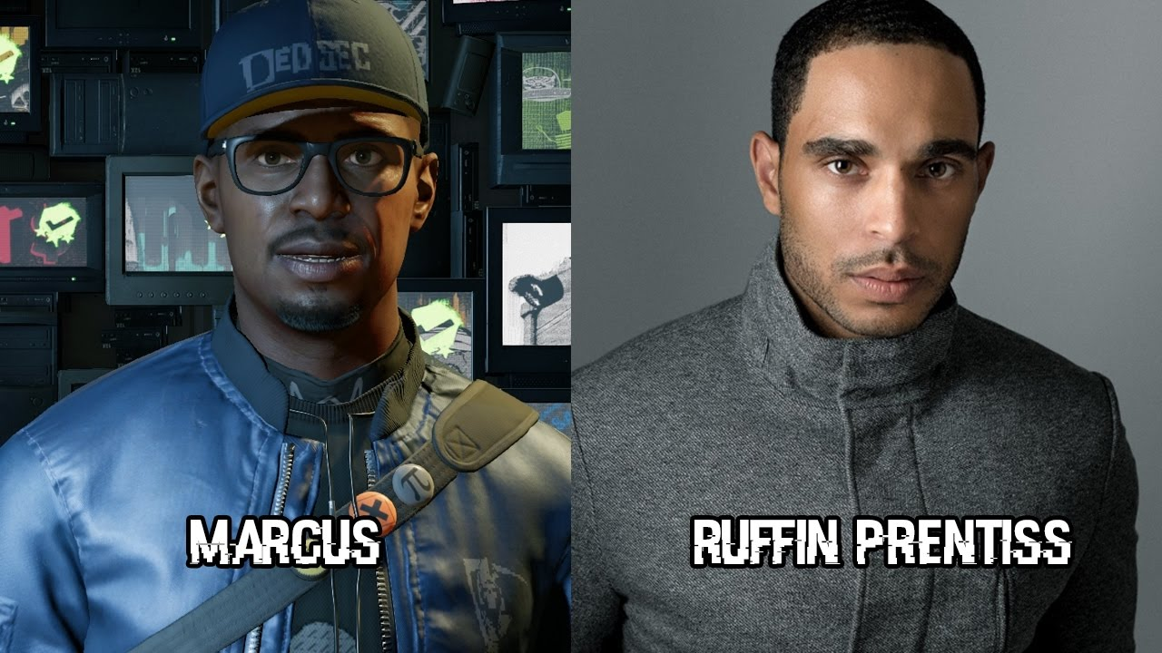 Voice Actors For Watch Dogs