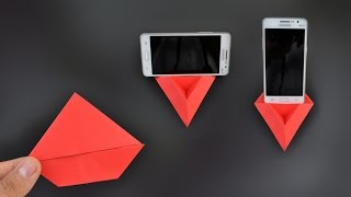 Origami: Phone Stand / Holder 3.0 - Instructions in English (BR)