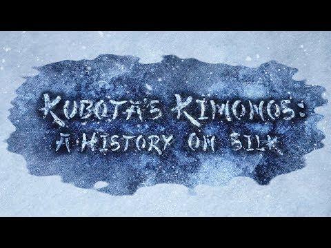 Introduction to Itchiku Kubota & Tsujigahana / Part 1 Kubota's Kimonos