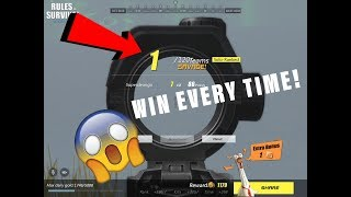 Rules Of Survival | How to win EVERY time!