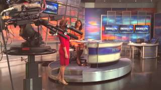 julie bologna s final weather cast at wfaa behind the scenes