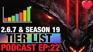 Tier List Season 19 - Diablo 3 Patch Build 2.6.7 Guide