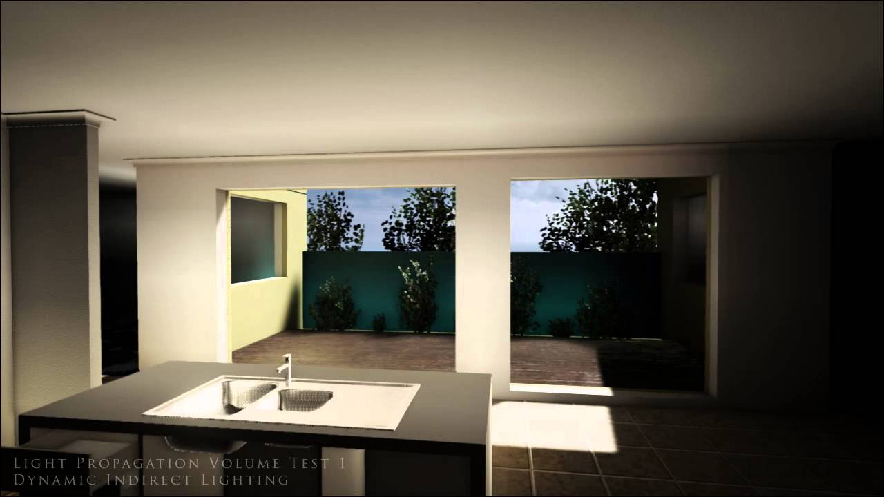 Unreal Engine 4 - Dynamic Global Illumination