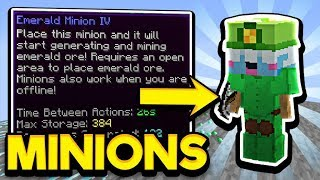 Minions Explained &amp Tips - Hypixel Skyblock