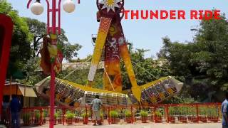Awesome Ride || thunder || scaring water ride || top ride || omg masti