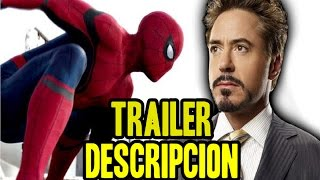 Trailer Spiderman Homecoming Descripción | Comic Con Brasil