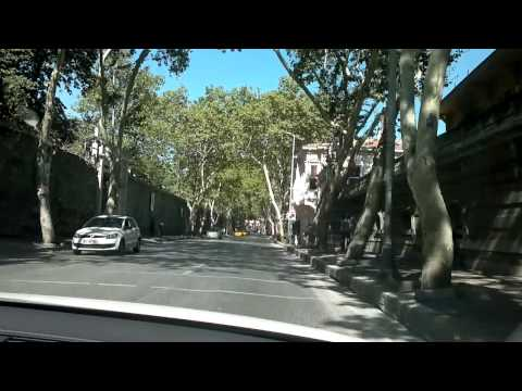 Istanbul - Driving with the car from Besiktas to Ortaköy (HD)