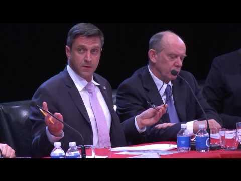 Raúl Esparza as Senator Marco Rubio - Scenes From All The President's Men?