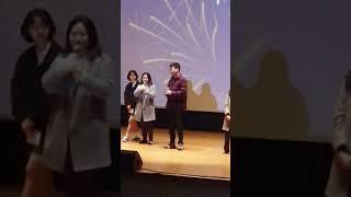 2019년11월15일 졸작상영회 나의 인사말