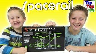 Spacerail Murmelbahn Small Foot Company Kugelbahn Venus mit Motor Spielzeug Unboxing Video Kinderkan