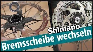 Shimano Bremsscheiben wechseln - mit und ohne Centerlock