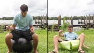 Testing the Anti-Burst Strength of Live Infinitely\'s Forever Flex Exercise Ball