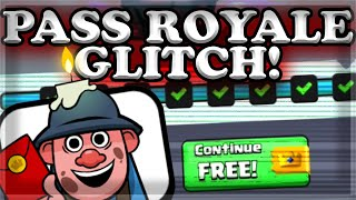 Pass Royale GLITCH & Buying the EXCLUSIVE Miner Emote! 🍊