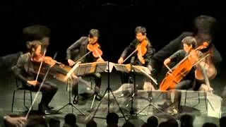 Beethoven String Quartet No. 12 in E flat Major Op.127 1st Mov. by NOVUS Quartet_노부스콰르텟