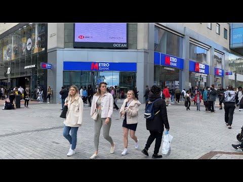 Walking around Birmingham | #50 City Centre reopening | England UK 2021