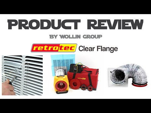 Retrotec Review on Clear Flange for your Duct Blaster