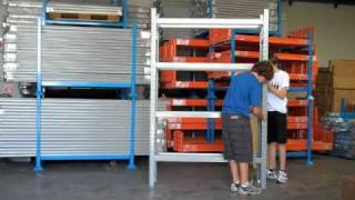 How To Assemble A Rackpallet Longspan Shelf
