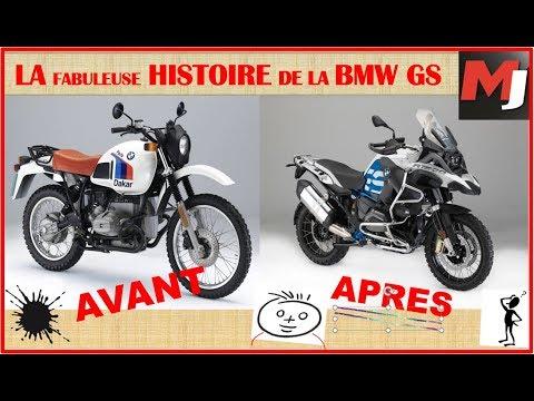 L'incroyable HISTOIRE de OUF de la BMW R GS - MOTO JOURNAL