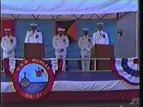 USS HUNLEY AS31 DECOM CEREMONY 15 SEPTEMBER 1994 NORFOLK NAVAL STATION NORFOLK, VA PART 1 OF 4