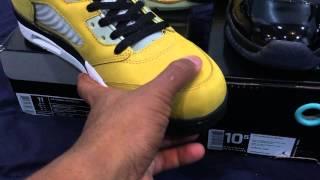 Kicksworld Air Jordan 5 Tokyo and Air Jordan 11 Gamma Blue