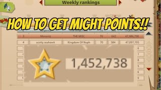 How to Get Might Points | Goodgame Empire Tutorials