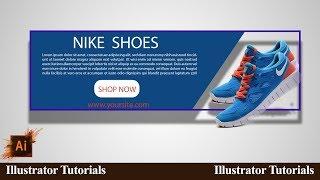 Design e commerce banner in illustrator cc l YouTube Tutorials Tuts