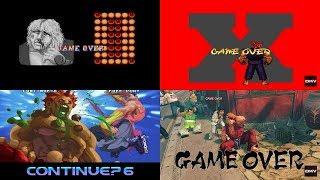 Street Fighter: Evolution of Game Over (1987-2018)