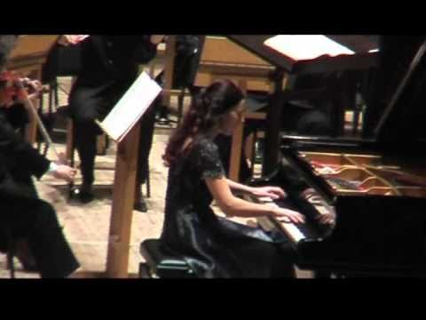 Shorena Tsintsabadze plays Rachmaninoff Piano Concerto №2 Part III