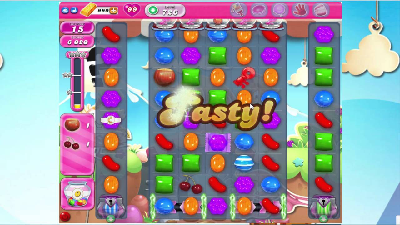 How to win candy crush level 726
